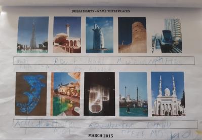 Dubai sights quiz