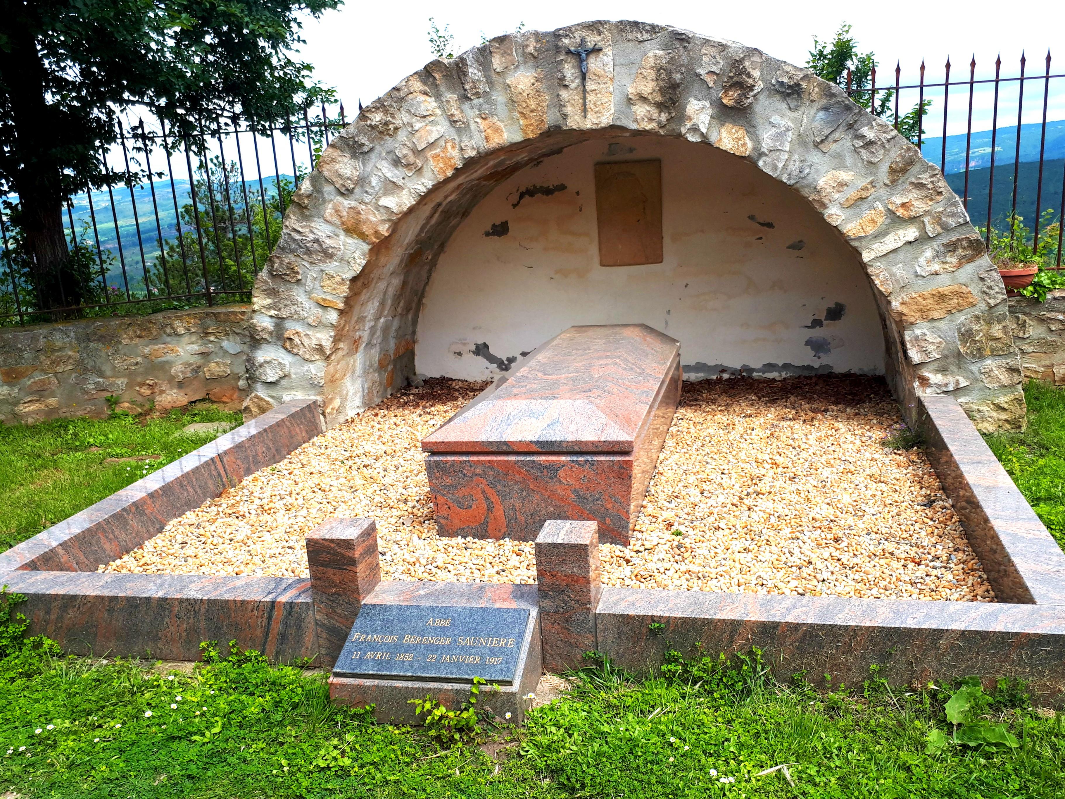 Saunière's Tombstone