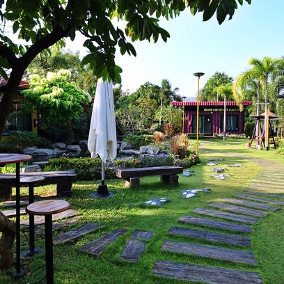 Stunning Garden Area