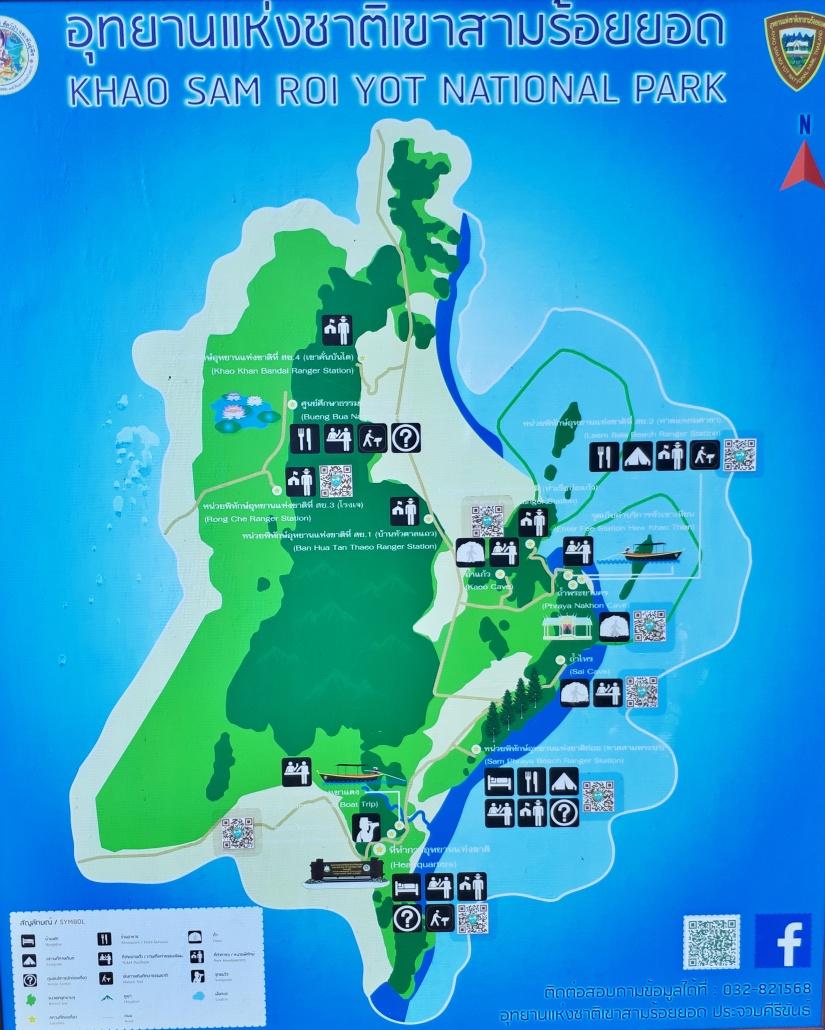 Sam Roi Yot Map